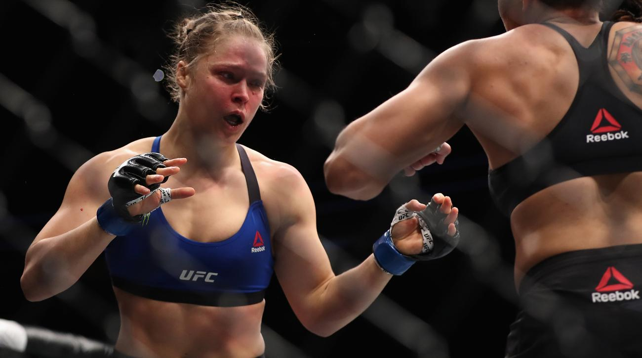 lebron james ronda rousey advice ufc 207 loss