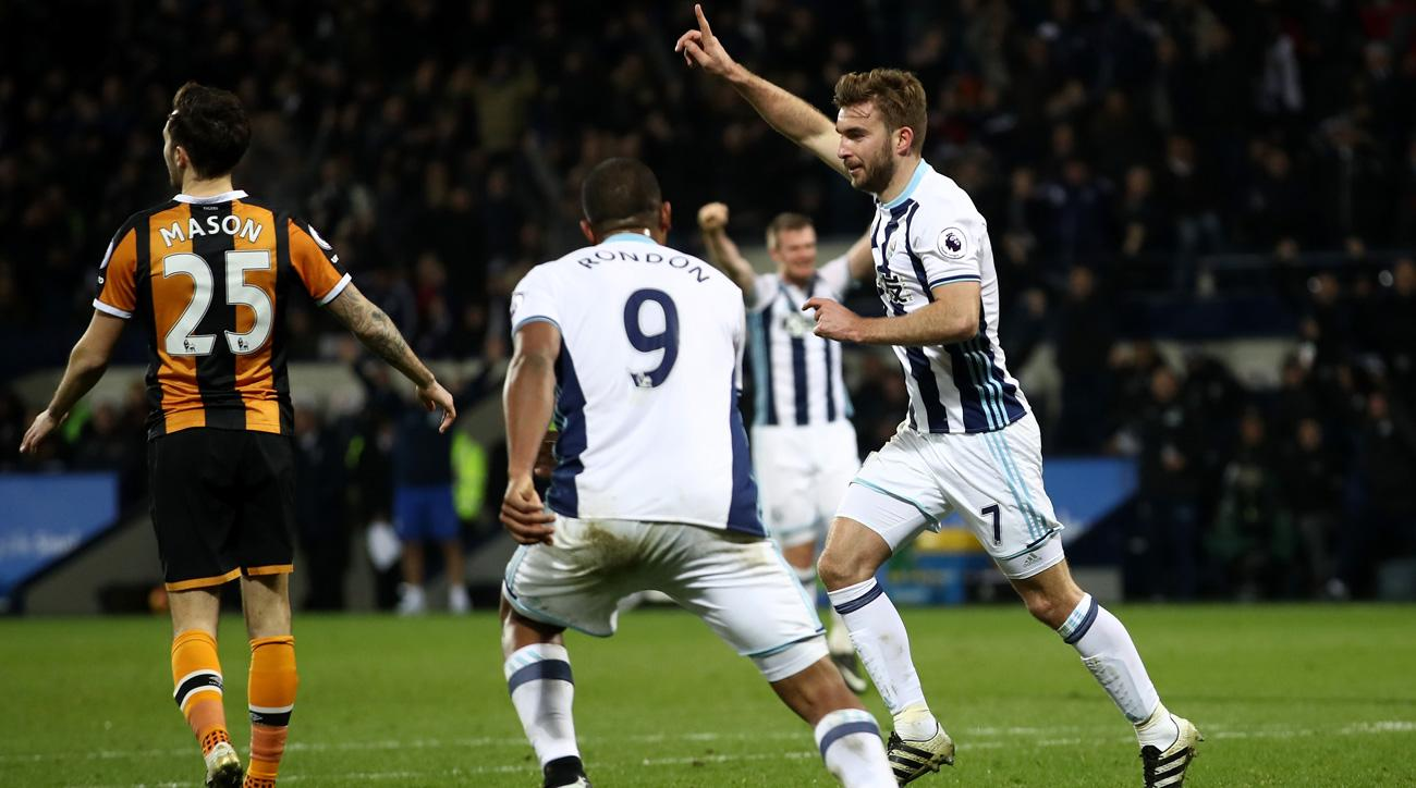 West Brom beats Hull City in the Premier League