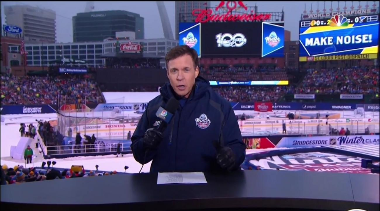 Winter Classic: Bob Costas' 'Hot In Herre' reference (video)