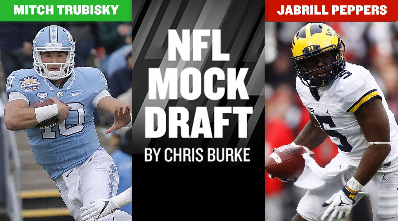 2017 NFL mock draft: Myles Garrett, Deshaun Watson, Mitch Trubisky lead first round picks