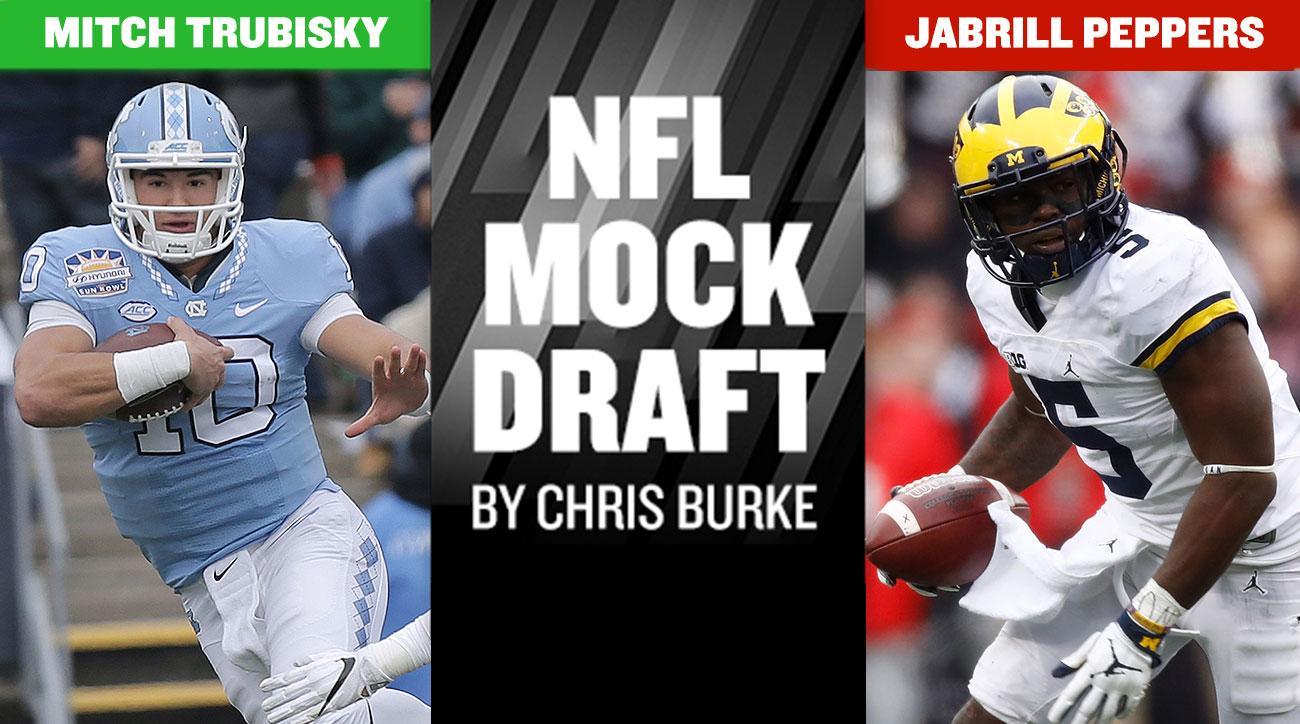 2017 NFL mock draft: Myles Garrett, Deshaun Watson, Mitch Trubisky lead first round picks