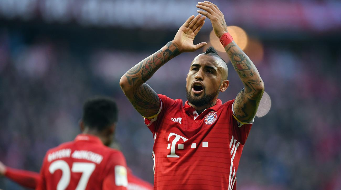Arturo Vidal has been linked with a move from Bayern Munich to Chelsea