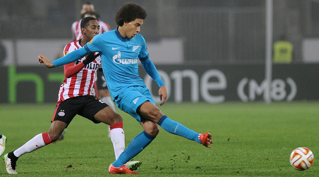 Axel Witsel moves from Zenit to China