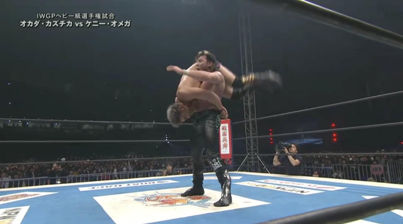 Kenny Omega-Kazuchika Okada Wrestle Kingdom 11 match VIDEO