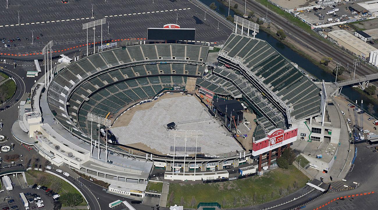 Oakland Coliseum, Oakland Athletics
