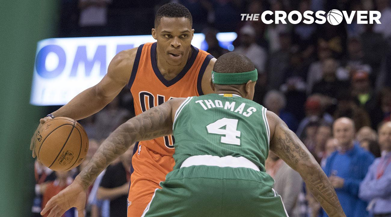 Russell Westbrook and Isaiah Thomas