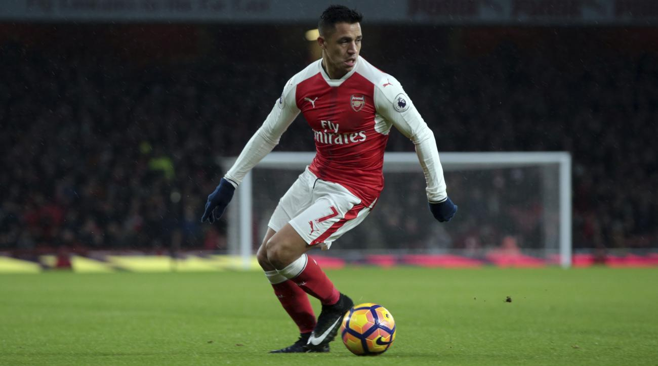 Alexis Sanchez and Arsenal face Preston North End in the third round of the FA Cup.