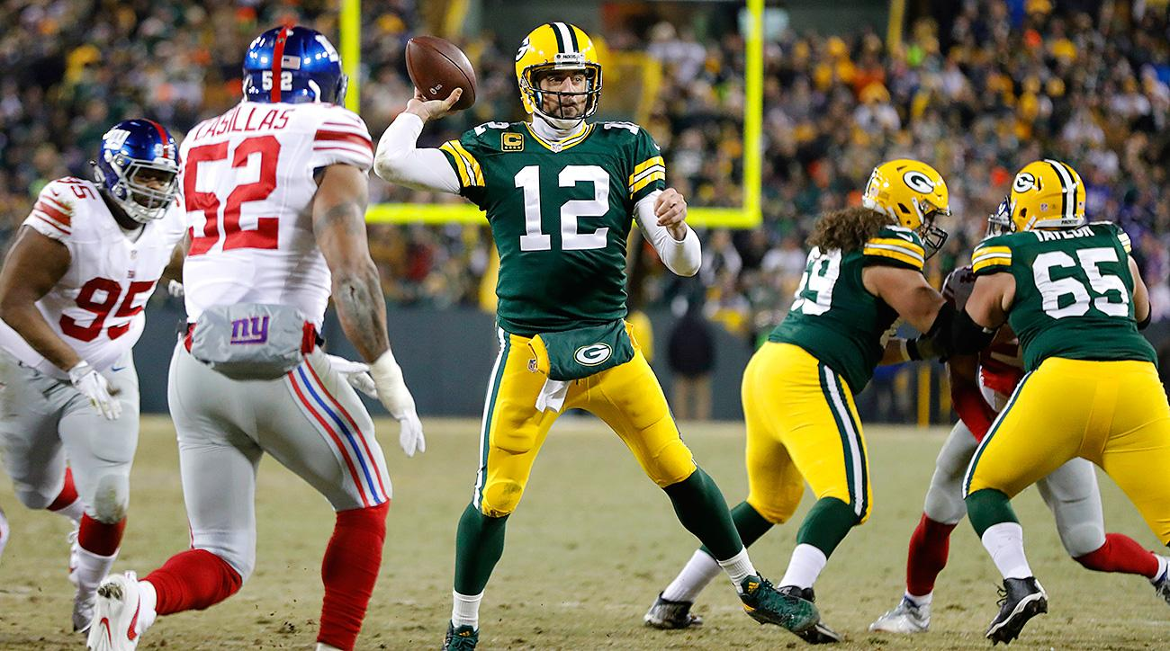 Aaron Rodgers's poise makes him so dangerous