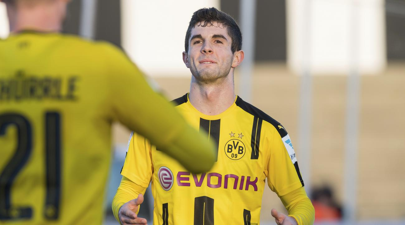 Christian Pulisic goal for Borussia Dortmund (VIDEO)