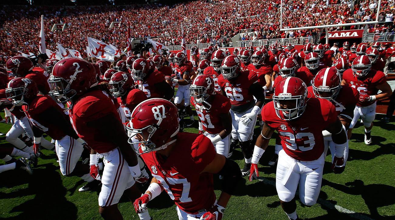 Alabama 2017 Schedule Crimson Tide Football Games Dates Si Com