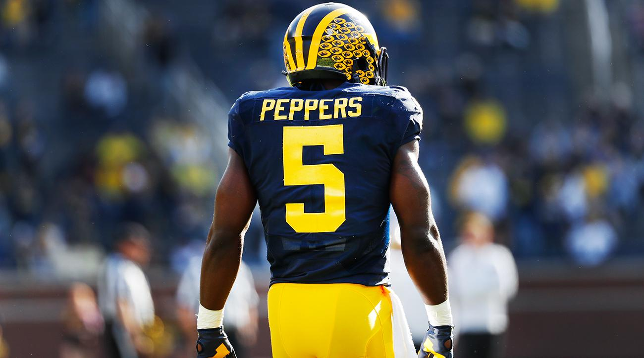 peppers michigan football jersey