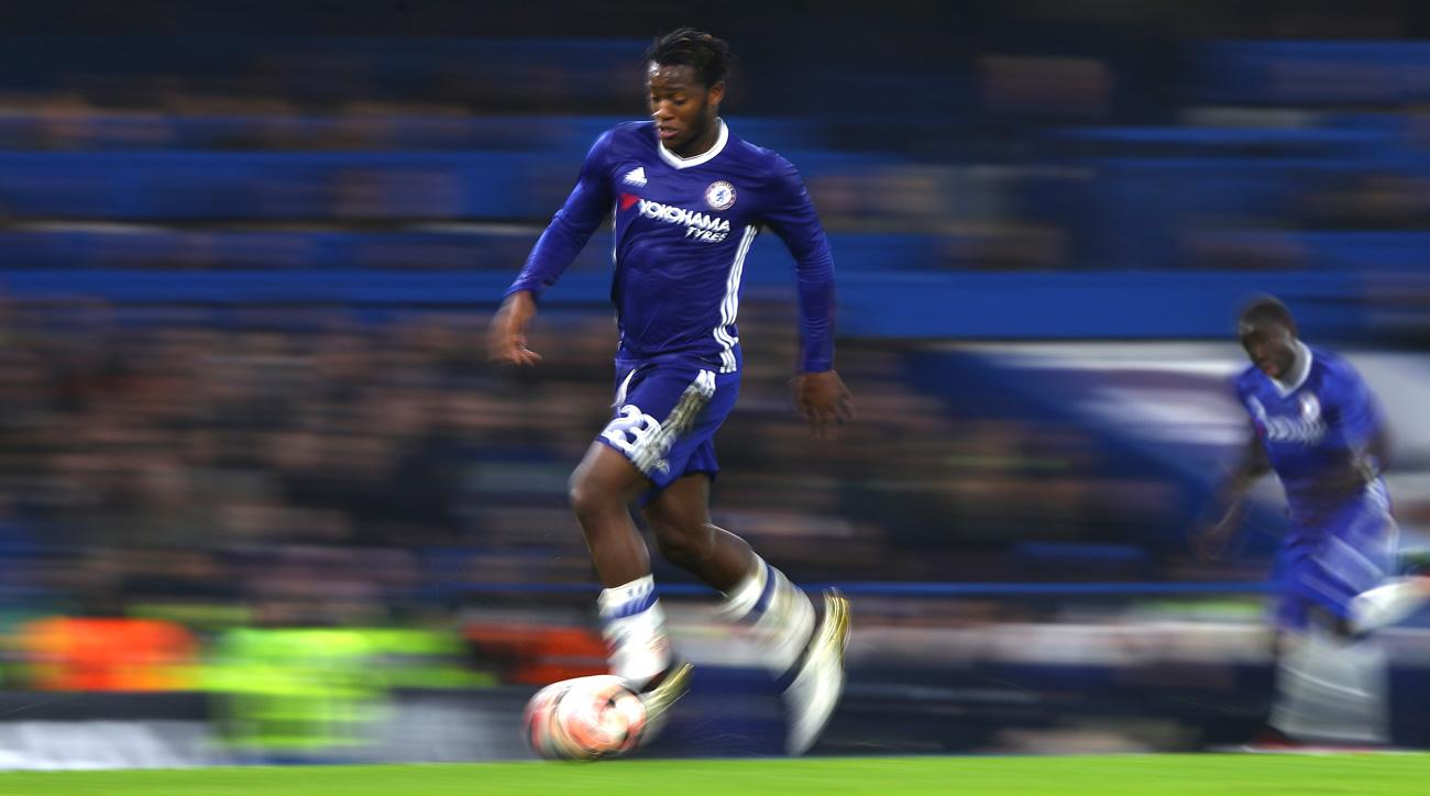 Michy Batshuayi could be on his way out of Chelsea after signing there this summer