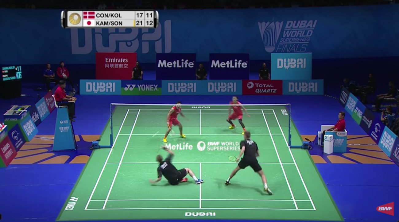 Badminton rally video takes internet by storm