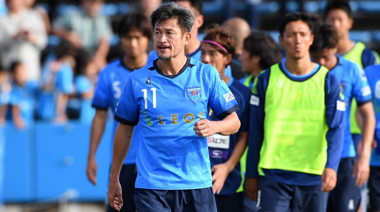 Kazuyoshi Miura will play through his 50th birthday at Yokohama FC
