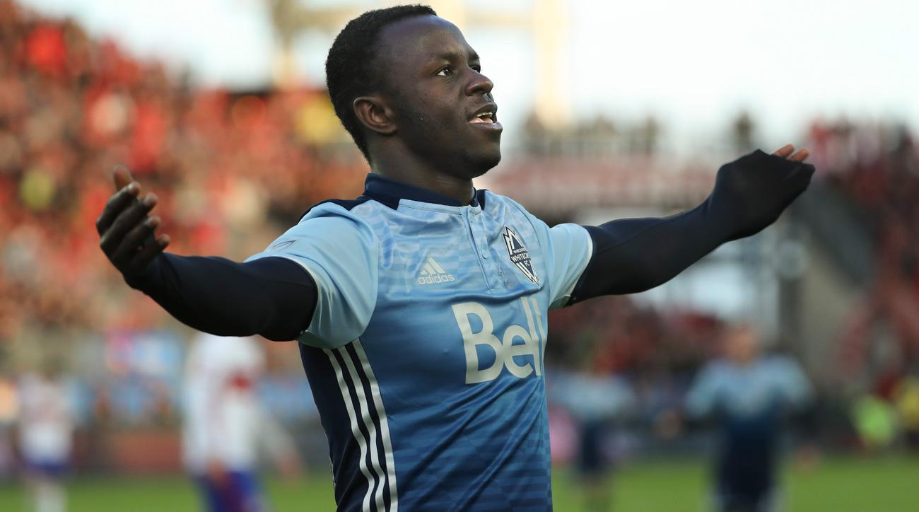 Vancouver Whitecaps forward Kekuta Manneh is a U.S. citizen