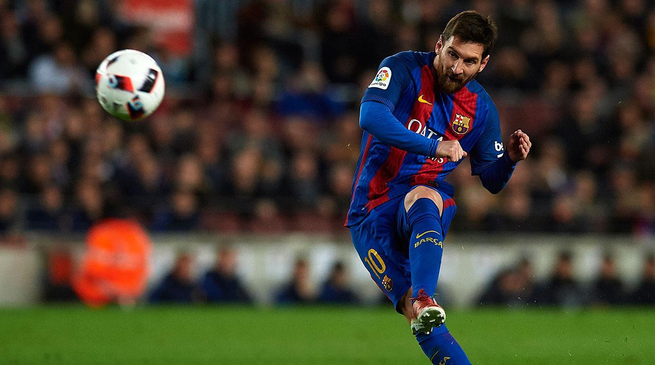 lionel messi goal barcelona athletic bilbao