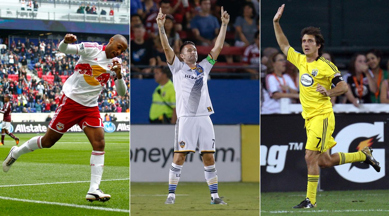 Thierry Henry, Robbie Keane, Guillermo Barros Schelotto are three of MLS's best DP signings ever