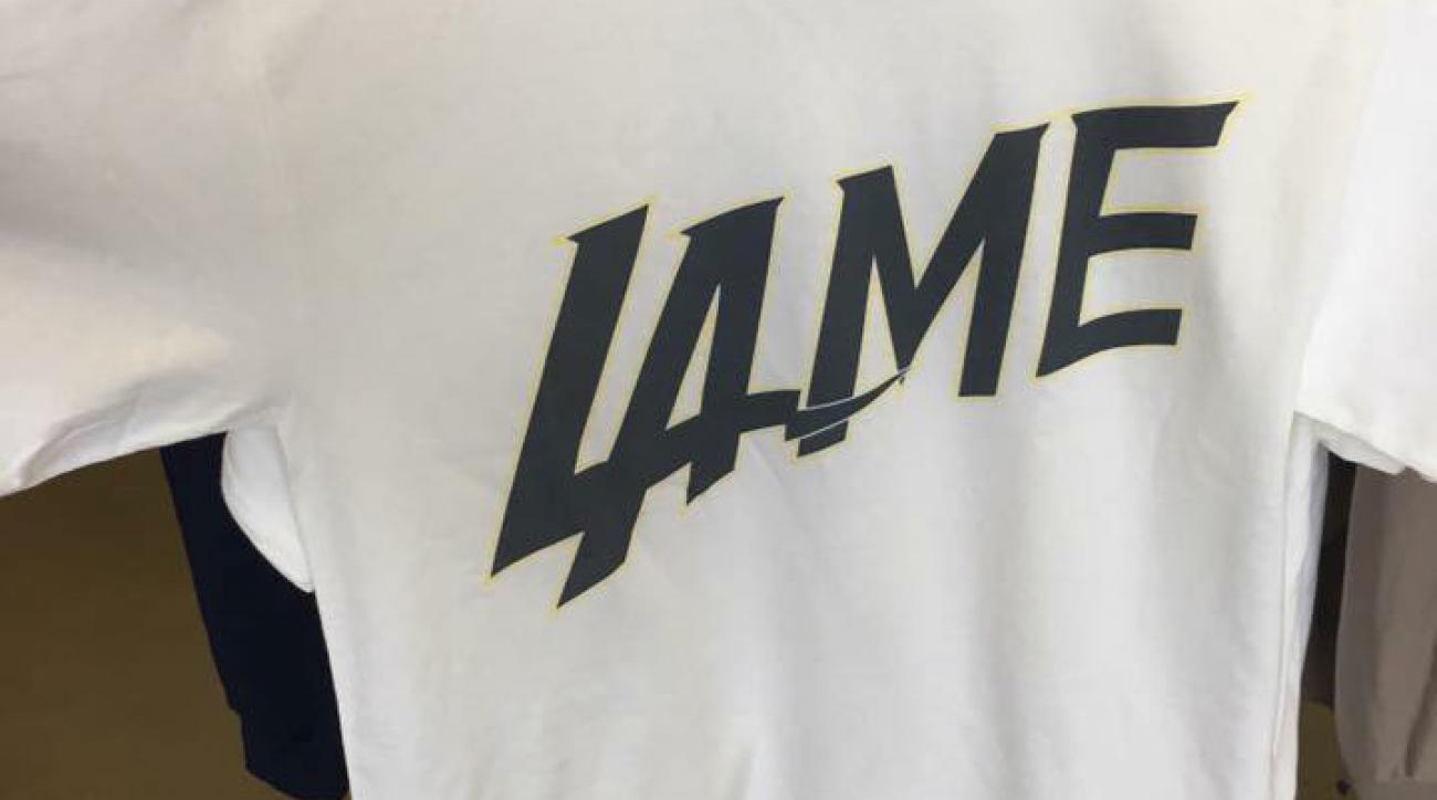 Los Angeles Chargers logo: Shirts for sale in San Diego
