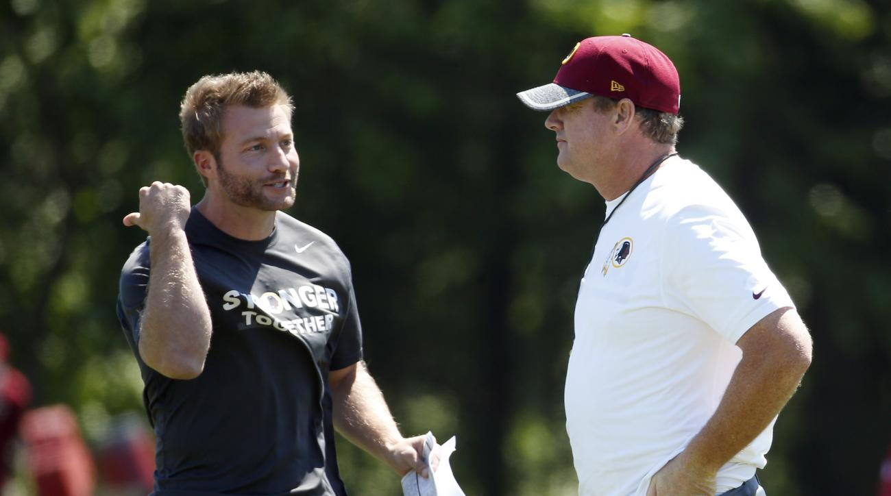 Rams hire Redskins offensive coordinator Sean McVay as head coach