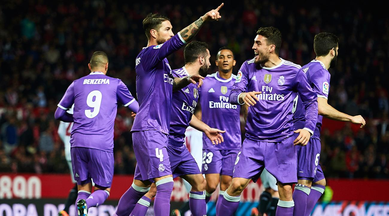 Real Madrid extends its unbeaten streak to 40 matches