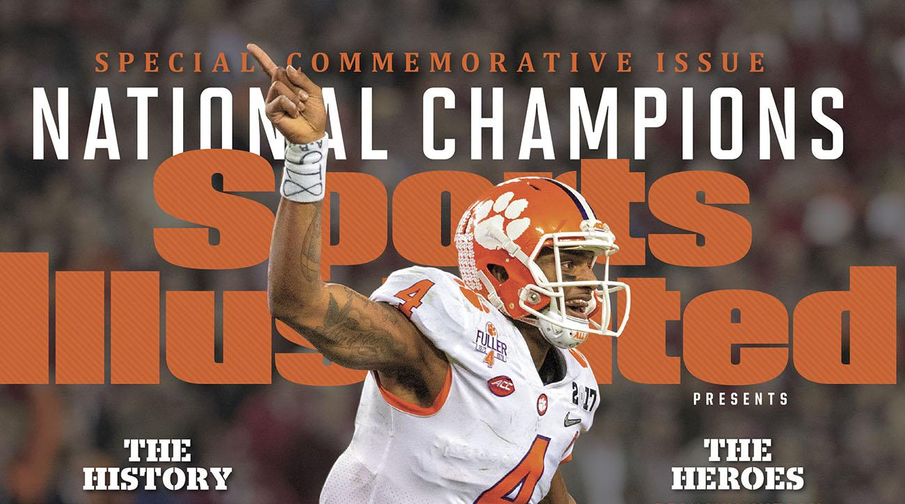 Clemson Tigers Sports Illustrated covers: Buy them here | SI.com