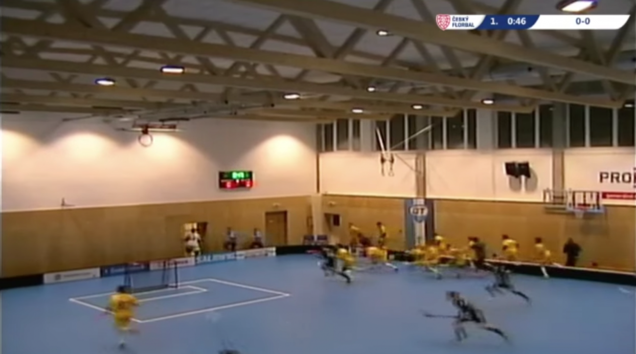 Czech Republic roof collapse results in no injuries (VIDEO)