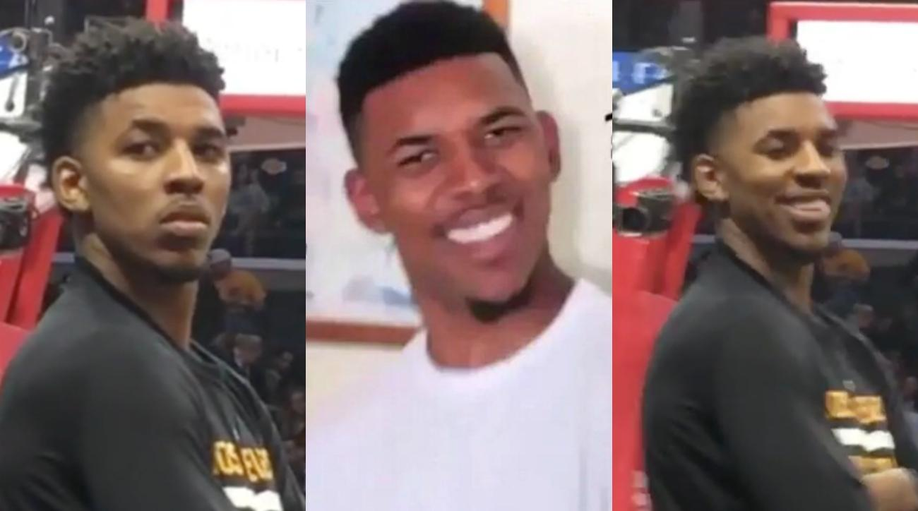 Lakers' Nick Young trolled by meme (video)