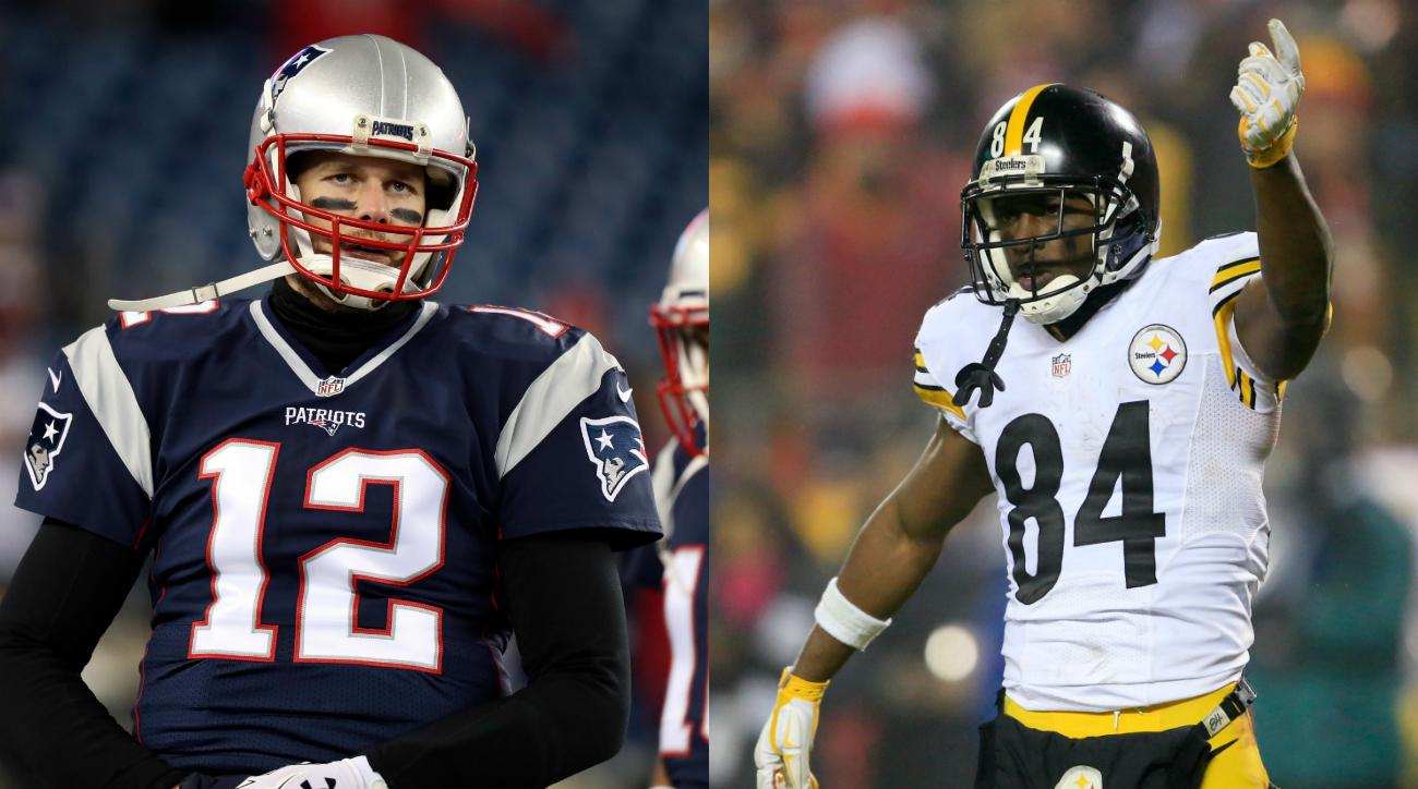 Antonio Brown: Tom Brady criticizes Facebook Live stream