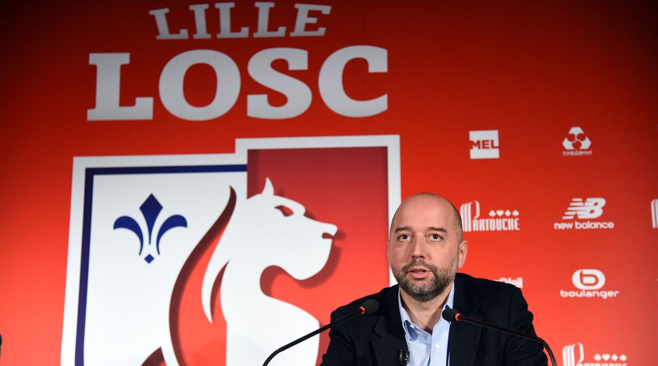 Gerard Lopez is the new owner of Lille