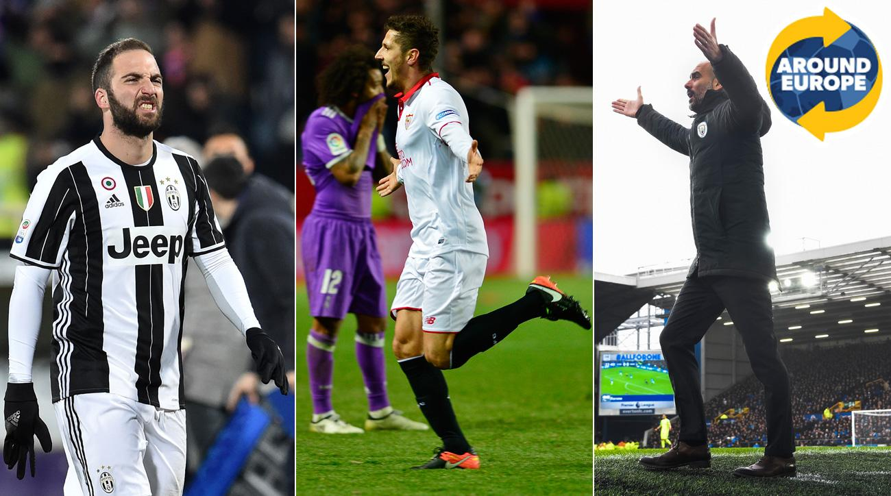 Juventus, Real Madrid, Manchester City all lose in key games Around Europe this weekend