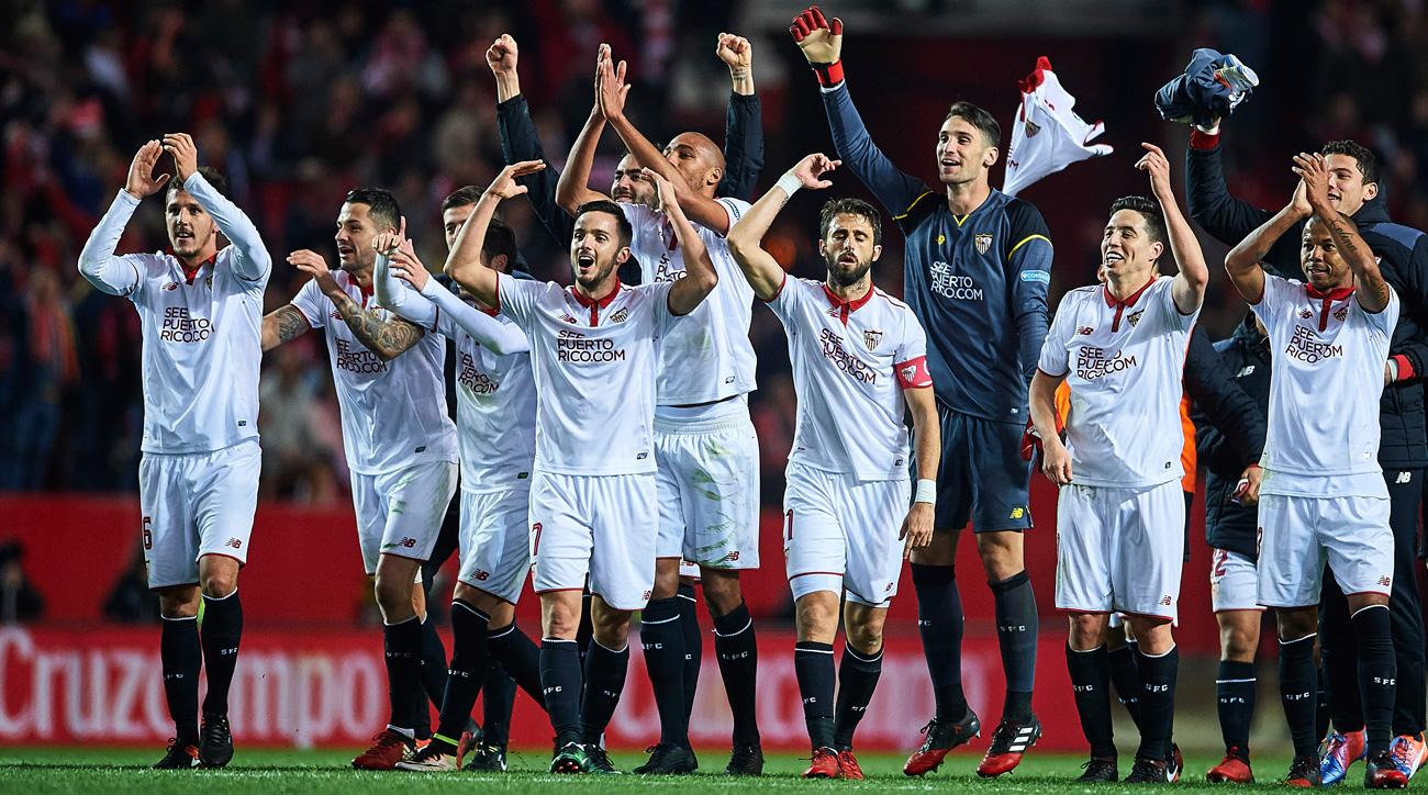 Sevilla ends Real Madrid's 40-game unbeaten streak