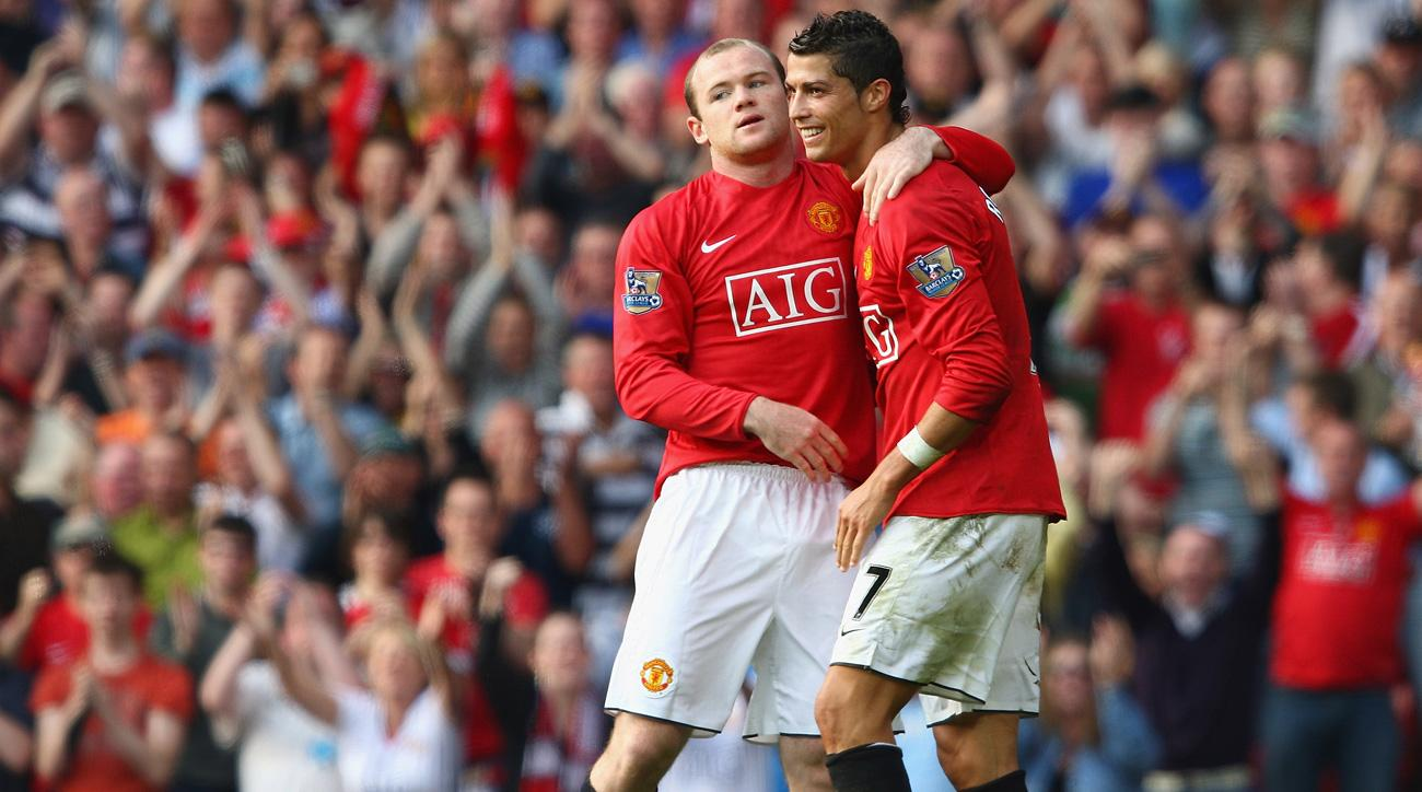 Cristiano Ronaldo and Wayne Rooney made for a lethal tandem at Manchester United