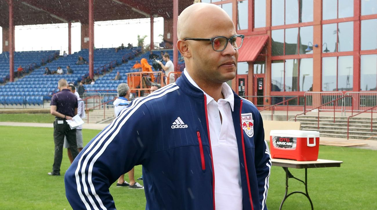 Ali Curtis is out as sporting director of the New York Red Bulls
