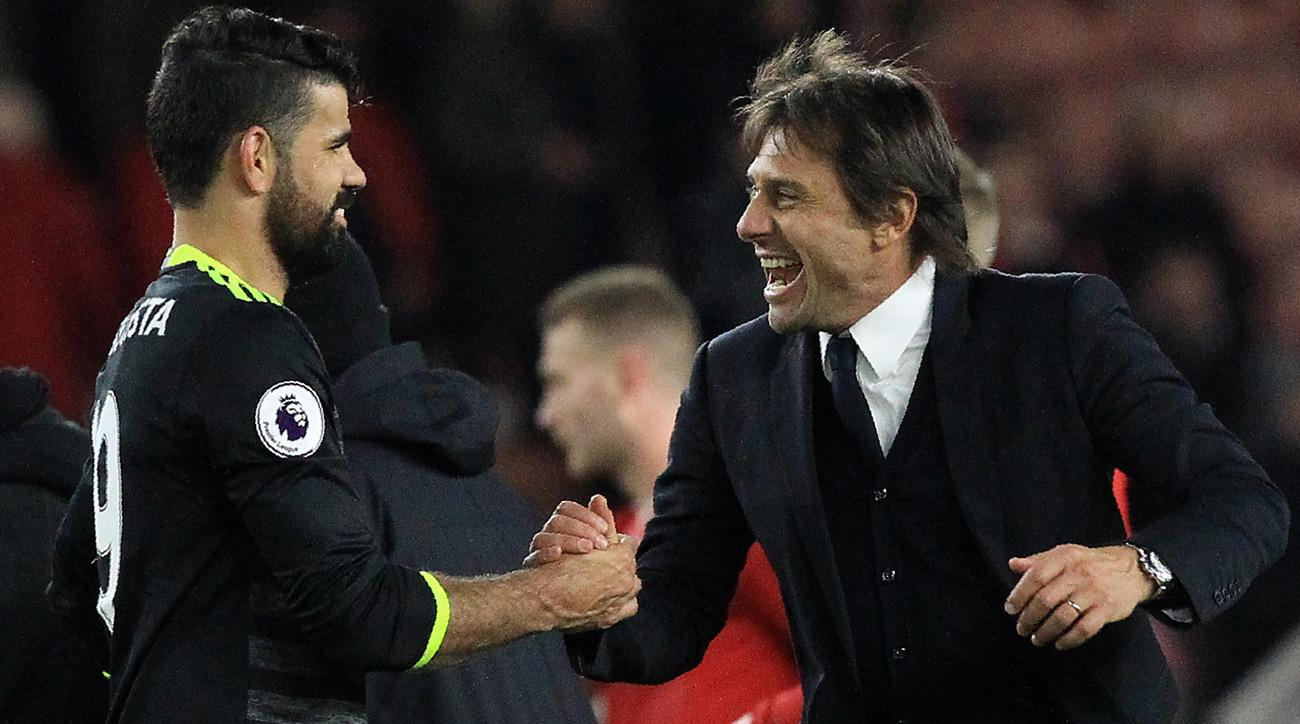 Diego Costa has reportedly returned to Chelsea training