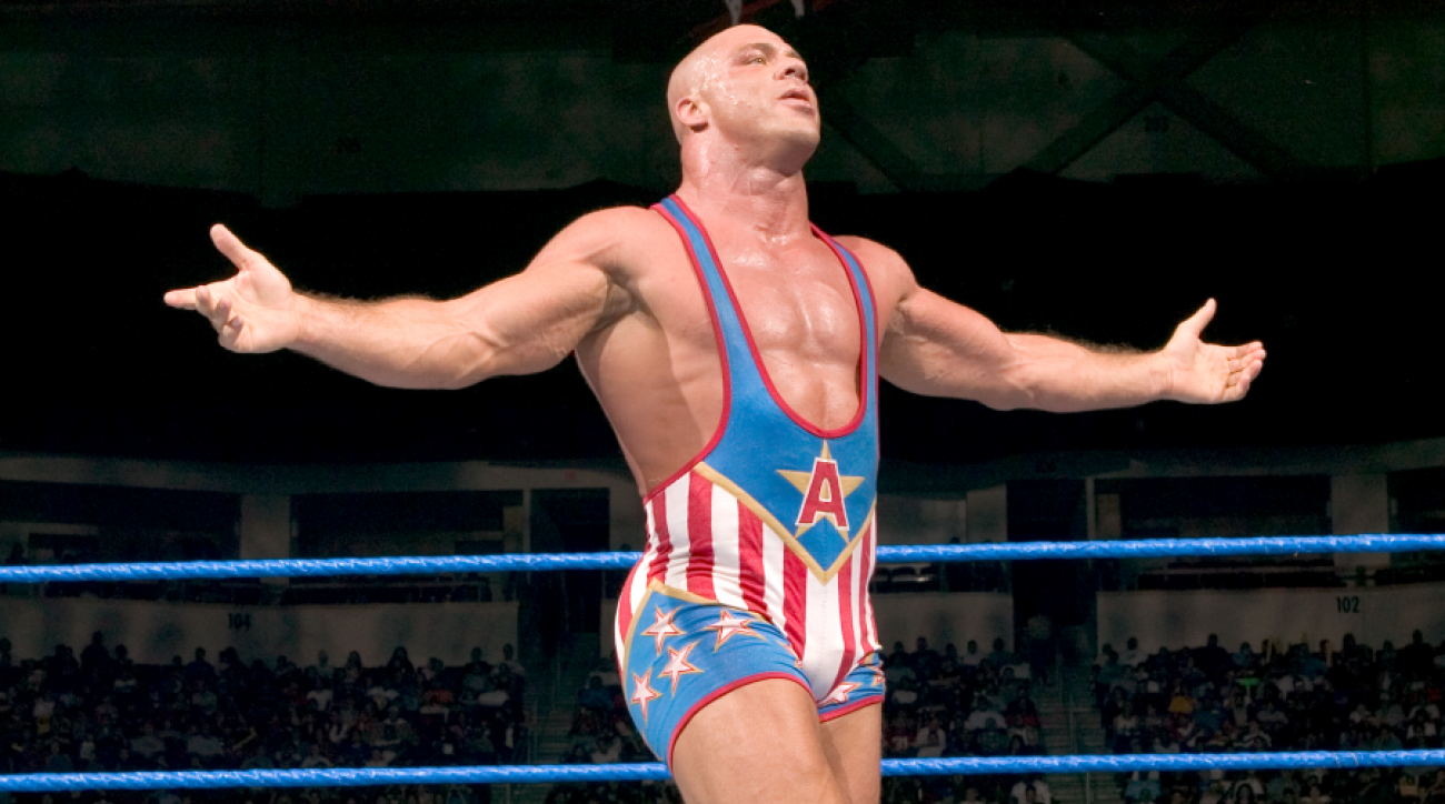 WWE's Kurt Angle on Hall of Fame induction (interview)
