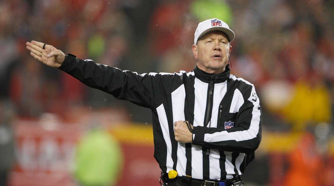 Carl Cheffers wil ref Super Bowl LI.