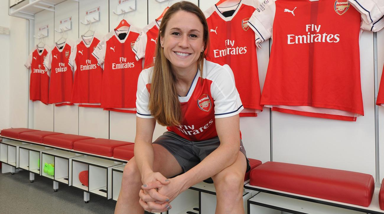 Heather O'Reilly will play for Arsenal