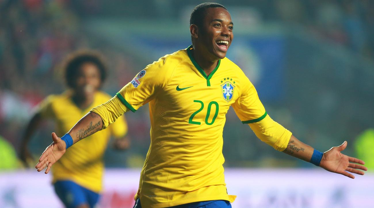 Robinho will play for Brazil in a friendly to benefit Chapecoense