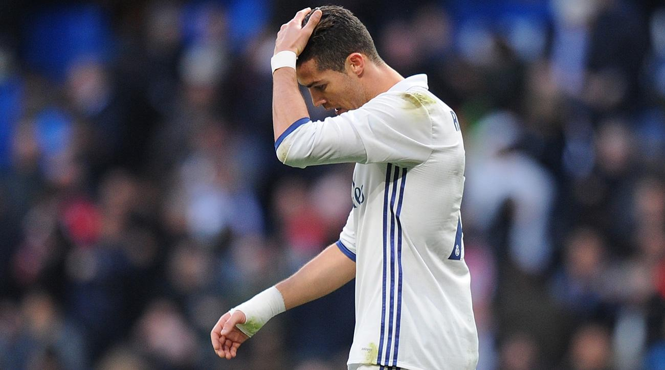 Cristiano Ronaldo is in a poor run of form for Real Madrid