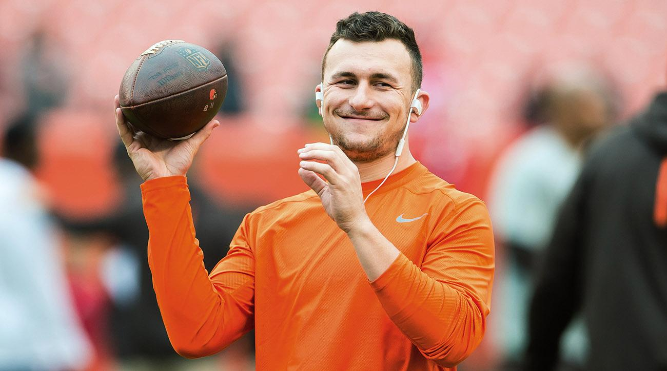 Johnny Manziel offered President Donald Trump some advice on managing his Twitter account.