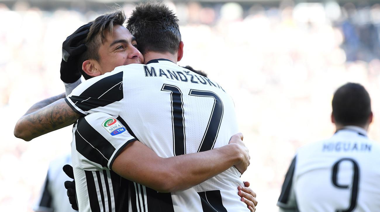 Juventus beats Lazio in Serie A