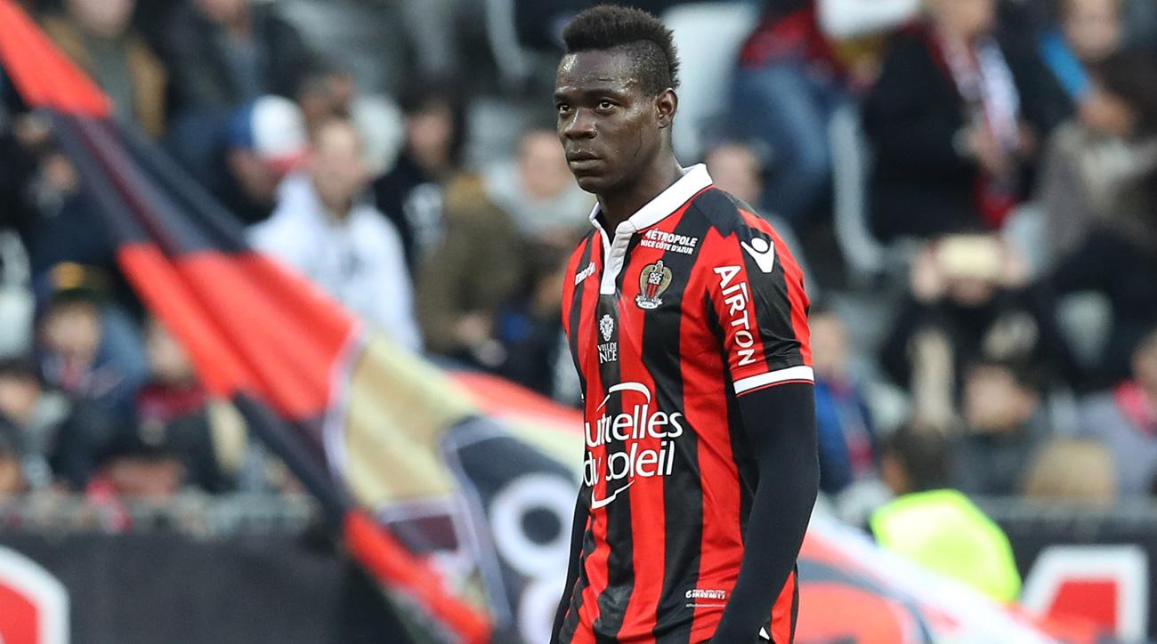 Mario Balotelli was subjected to racism at Bastia