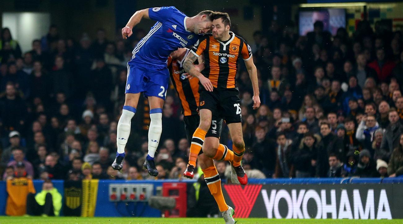 Ryan Mason fracture his skull vs. Chelsea