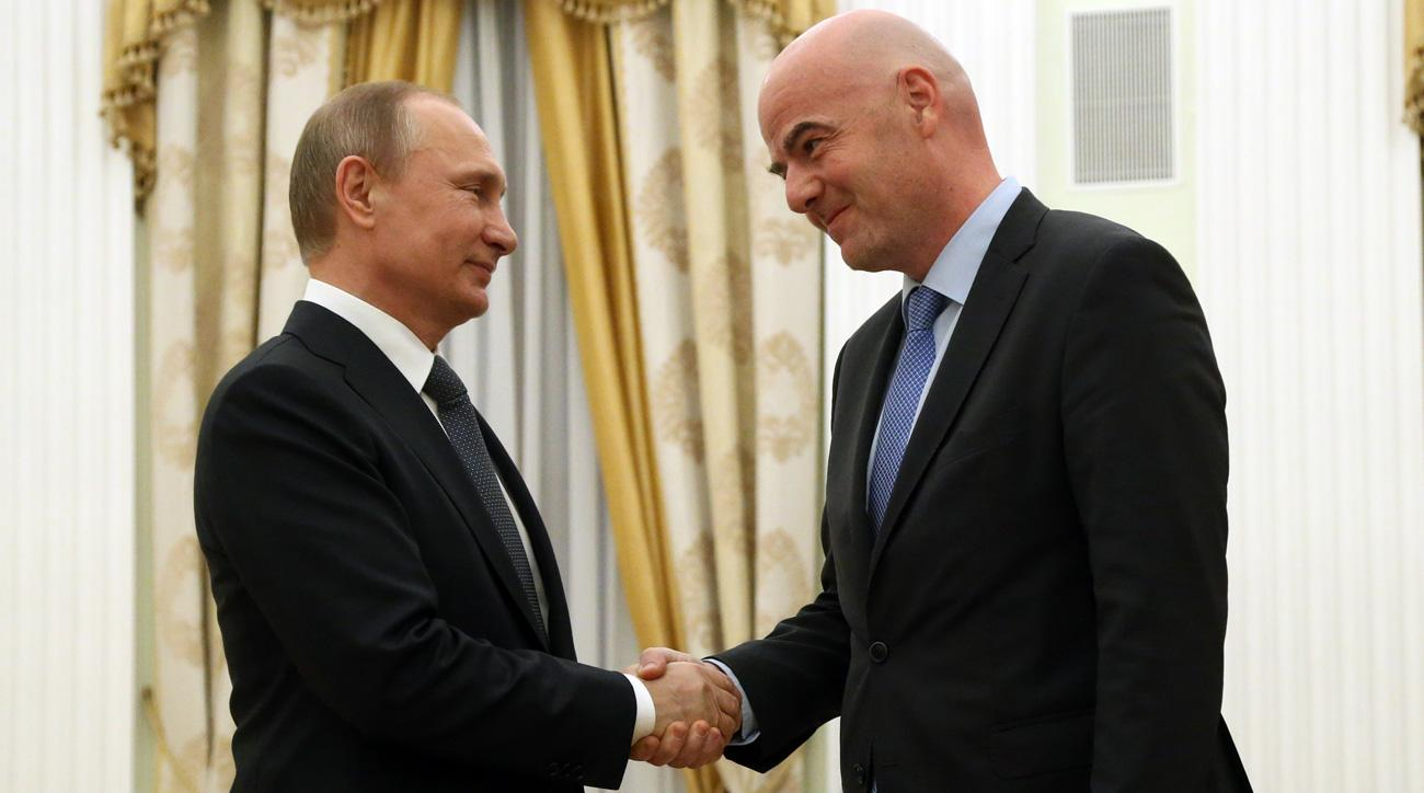 FIFA will host its 2018 World Cup draw at the Kremlin in Russia