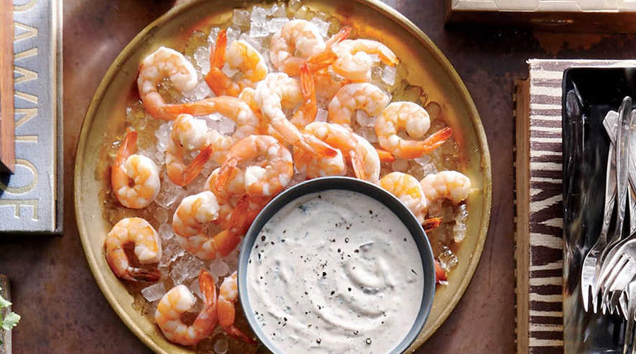 Broiled Shrimp with Buttermilk Rémoulade