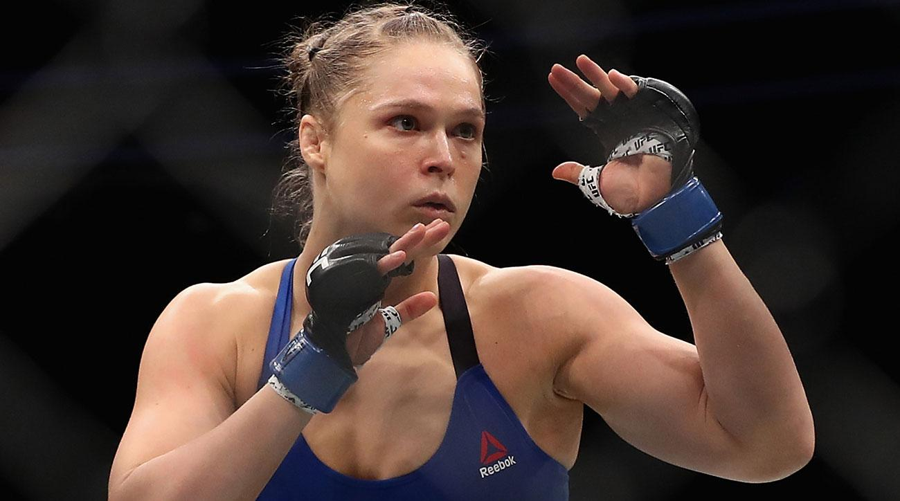 ronda rousey standing rock protests