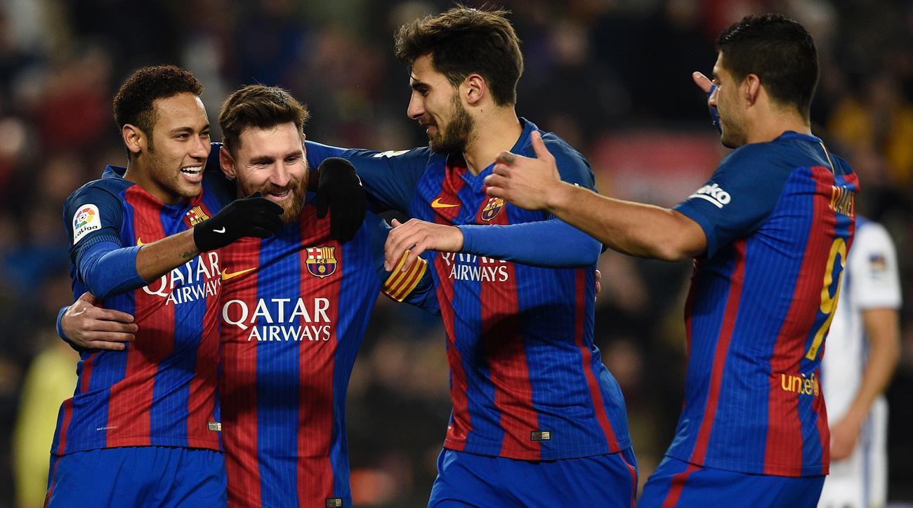 Barcelona reaches the Copa del Rey semifinals