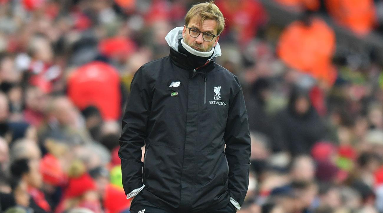 Liverpool is in a slump under manager Jurgen Klopp