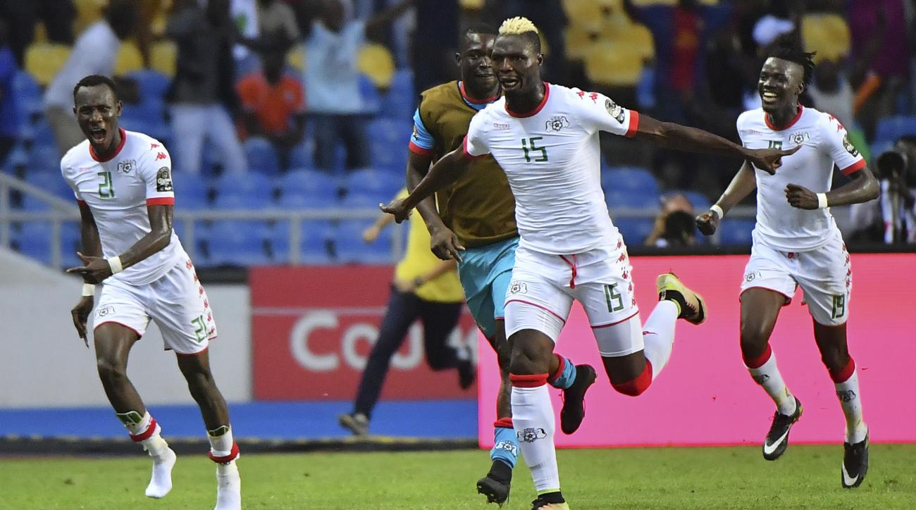 Burkina Faso plays Egypt in the first semi-final of the Africa Cup of Nations.