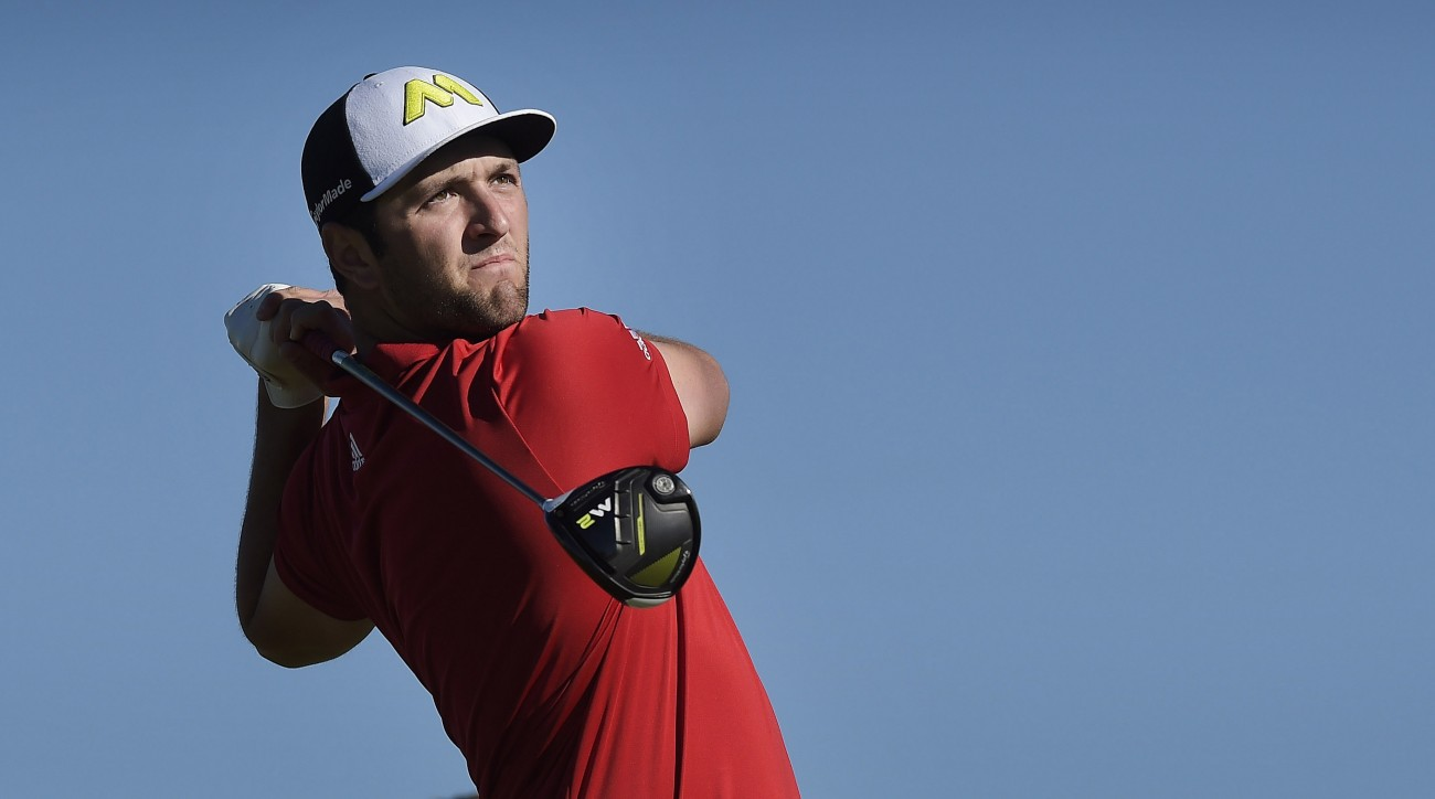 Jon Rahm won his first career PGA Tour event Sunday at the Farmers Insurance Open.